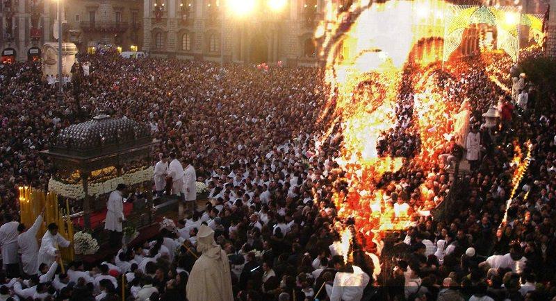 La festa di Sant'Agata ad Expo 2015