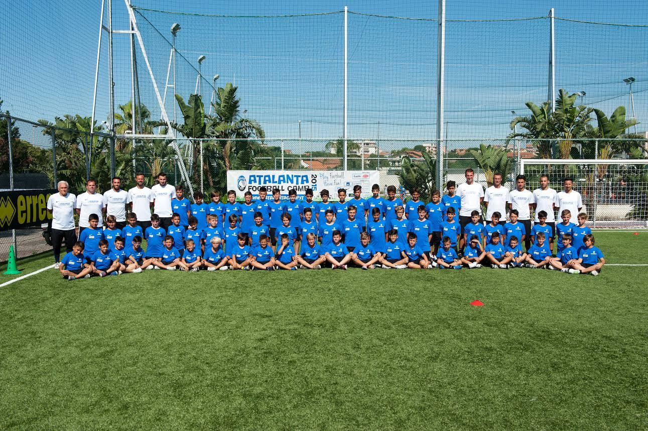 A Catania si è concluso l'Atalanta Football Camp: formazione calcistica e umana