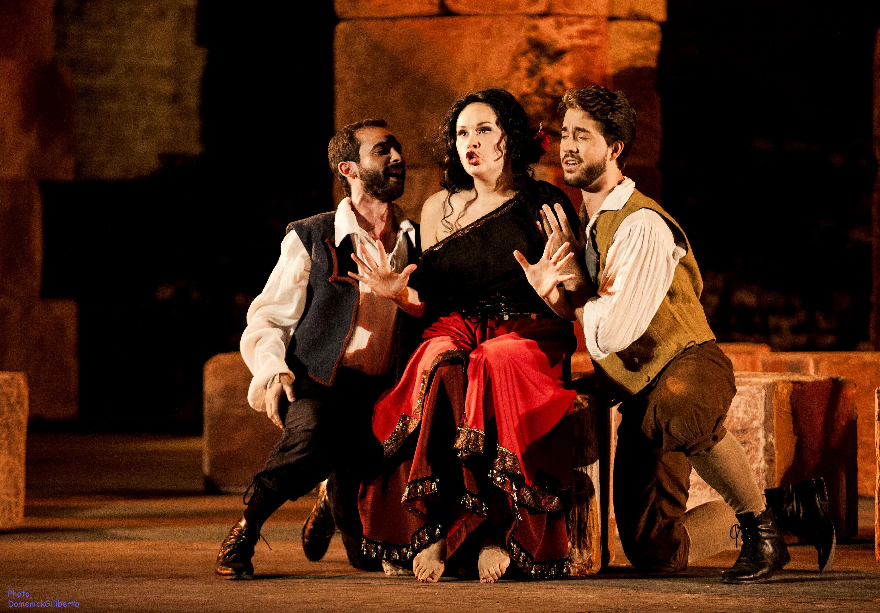 A Taormina grande successo della Carmen di Castiglione
