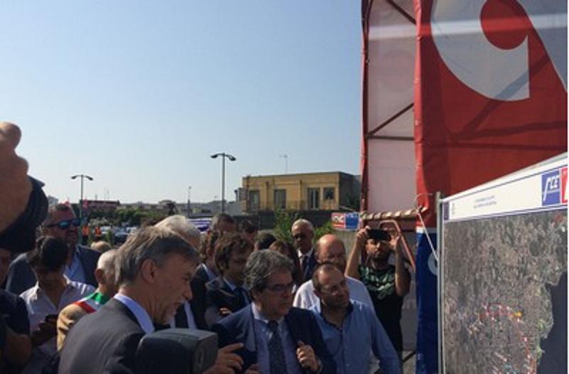 """Delrio a Catania interviene sulla A19 Palermo-Catania: """"Ad agosto il via ai lavori"""""""