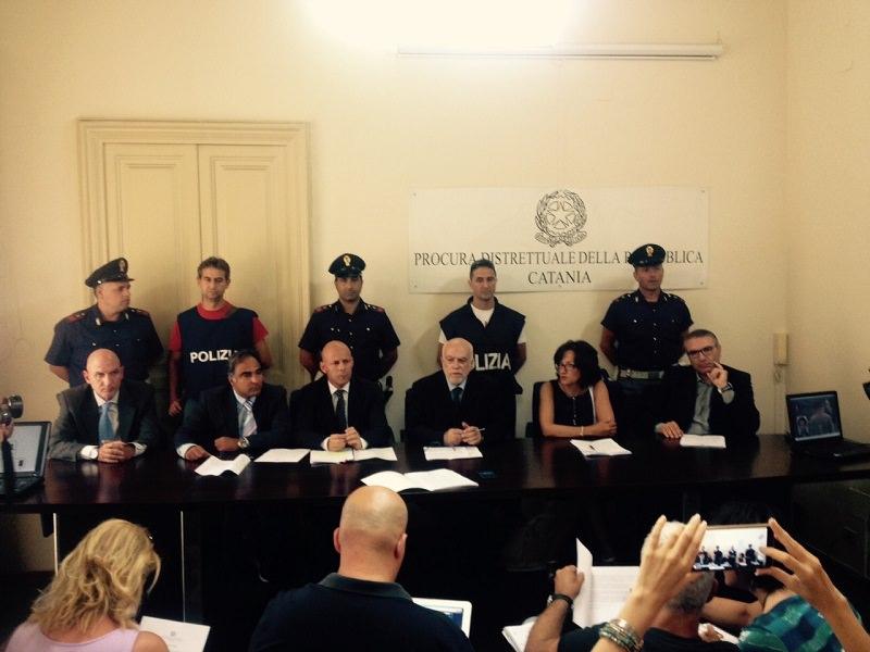 Adrano: decapitata la cosca Scalisi, in manette 8 persone