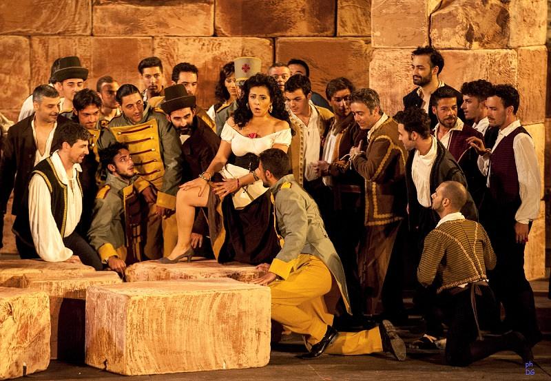 Torna la Carmen di Bizet a Taormina. Alessandra Volpe sarà la bella andalusa