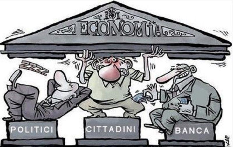 Banche pagheranno i loro debiti con i nostri soldi