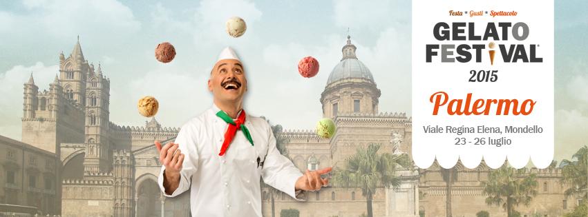 Approda in Sicilia il tour Gelato Festival, prima tappa Palermo