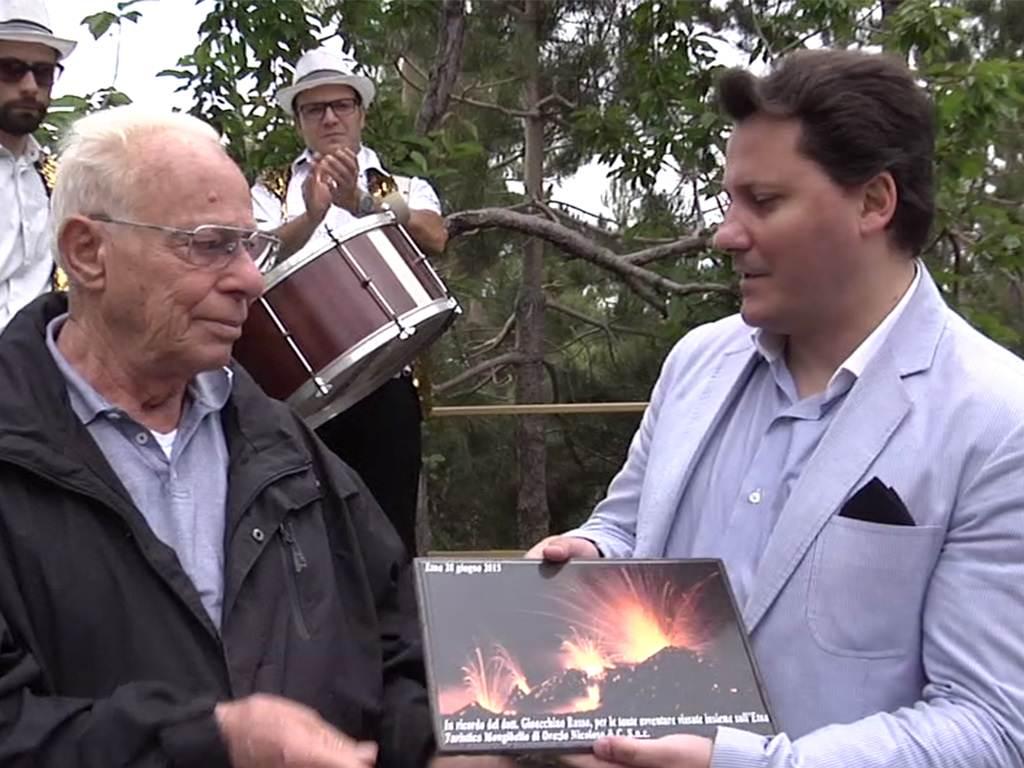 Turistica Mongibello: riconoscimento alla memoria di Gioacchino Russo