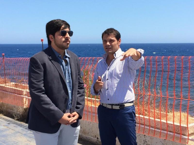 Capomulini, la Item presenta il progetto dell'hotel Hilton. In visita il giovane sceicco Ahmed Al Hamed