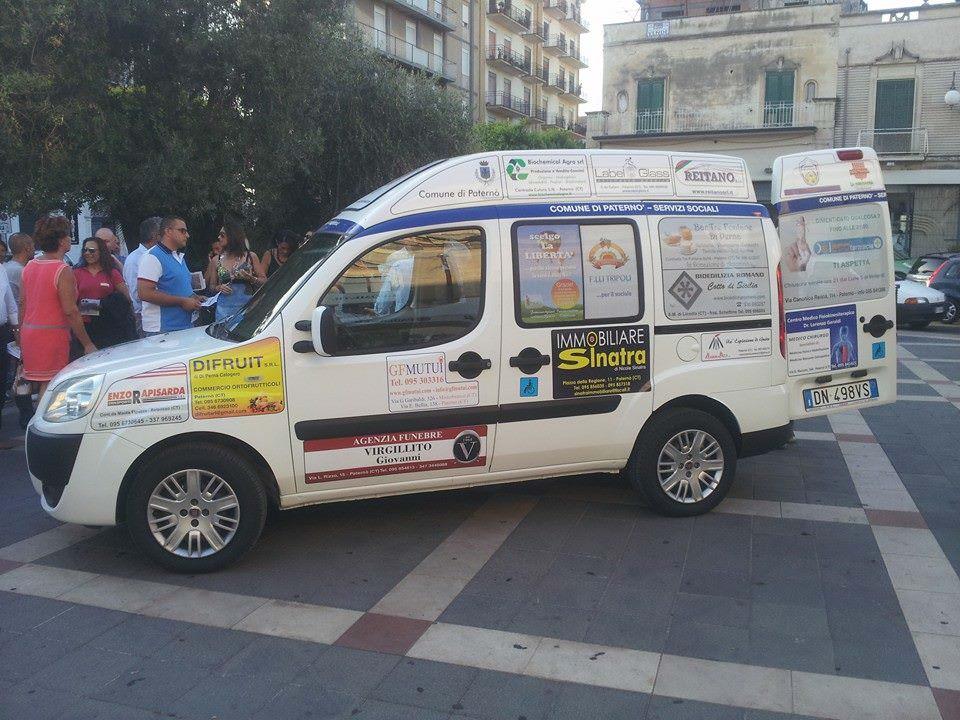 A Paternò il Taxi Sociale, per migliorare la mobilità dei soggetti deboli