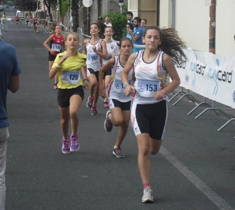 Corsa su strada a Trecastagni, assegnati titoli regionali giovanili