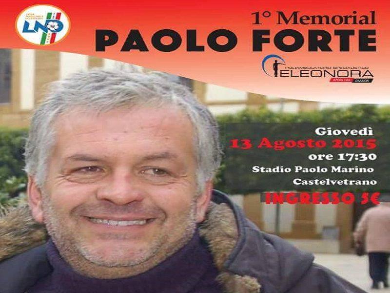 """Il sindaco di Castelvetrano annulla il primo torneo in memoria di Paolo Forte, """"Sono indignato"""""""