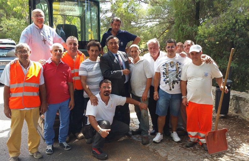 Santa Rosalia: Orlando incontra operai del Comune in vista della festa