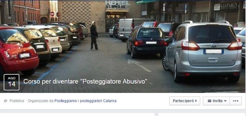 """Su Facebook spopola il """"Corso per diventare posteggiatore abusivo"""""""