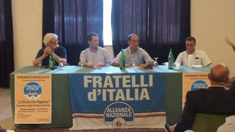 """Fratelli d'Italia traccia la linea: """"Archiviamo Crocetta e costruiamo l'alternativa"""""""
