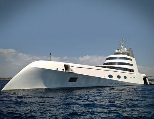 catania arriva lo yacht del magnate russo andrey