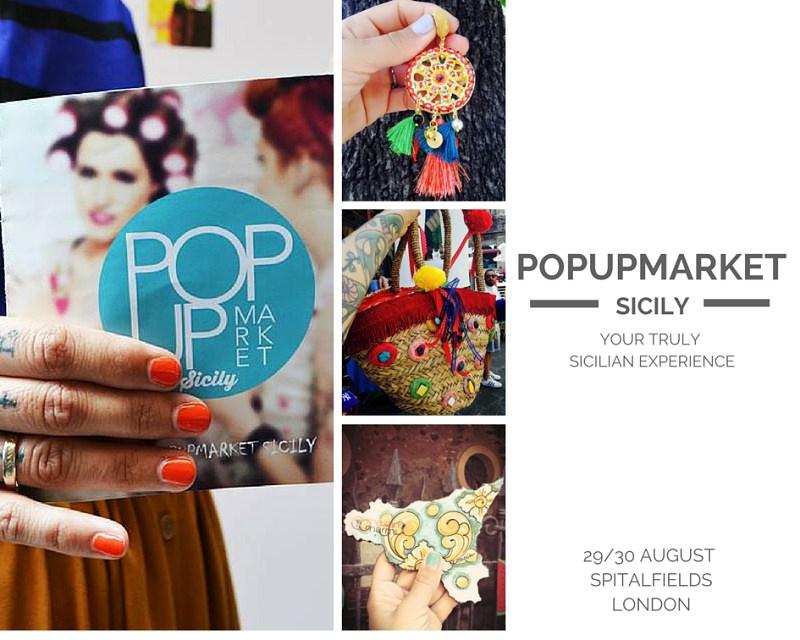 """La Sicilia a Londra con """"Pop Up Market"""""""