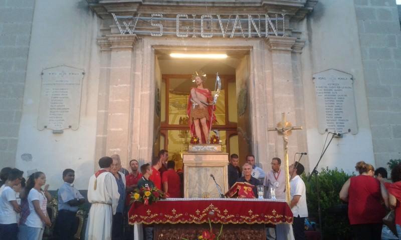 Concluse ad Aci Trezza celebrazioni del martirio di San Giovanni Battista