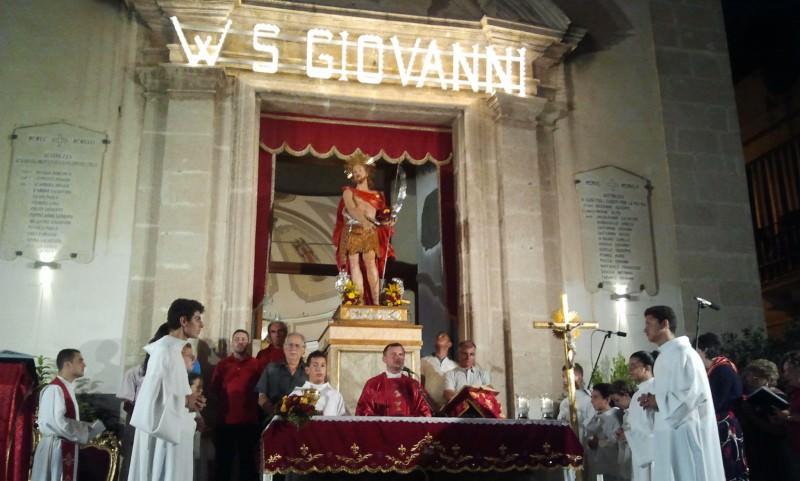 Ad Aci Trezza si celebra la ricorrenza del martirio di San Giovanni Battista