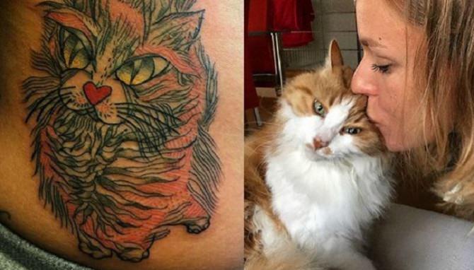 Federica Pellegrini e il suo tatoo in ricordo di Mafalda