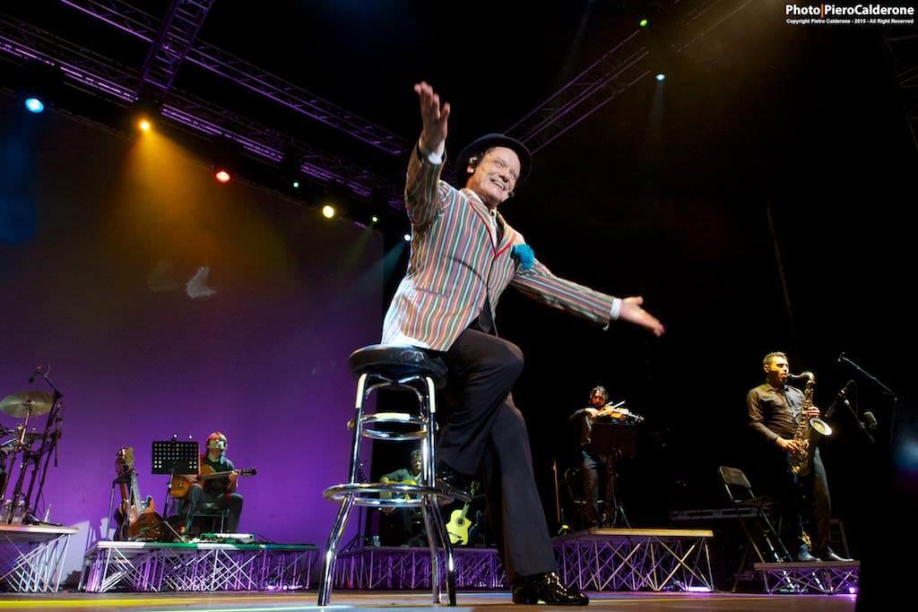 Portorosa, Massimo Ranieri incanta ed emoziona
