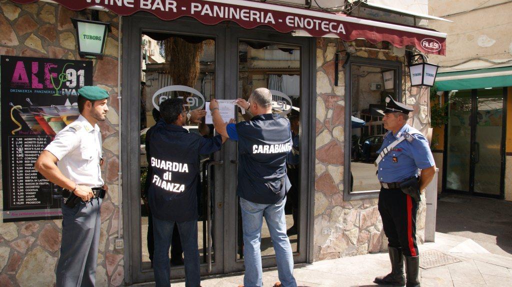 Palermo, Carabinieri e Finanza sequestrano beni e aziende per 850mila euro