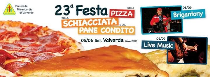 Valverde, Festa della pizza e della schiacciata