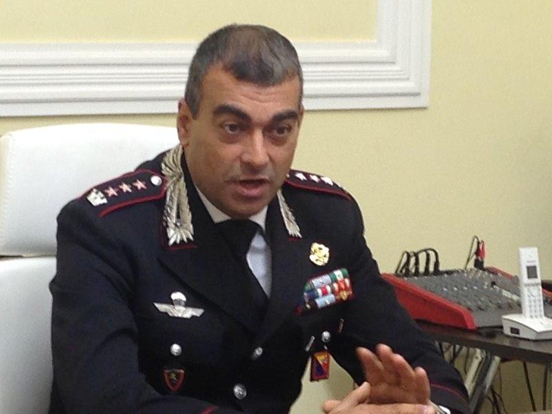 Carabinieri, il nuovo comandante Gargaro si presenta alla città di Catania