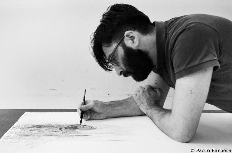 Tra pittura e improvvisazione, omaggio di Robustelli a Carmelo Bene