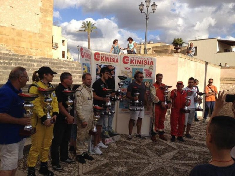 Slalom di Custonaci: podio tutto trapanese