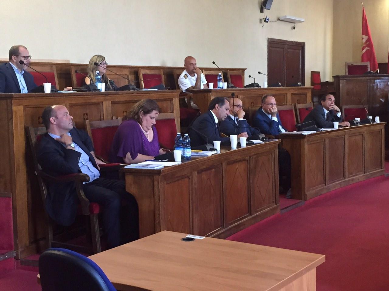 Visita a Milazzo della Commissione Ambiente del Senato