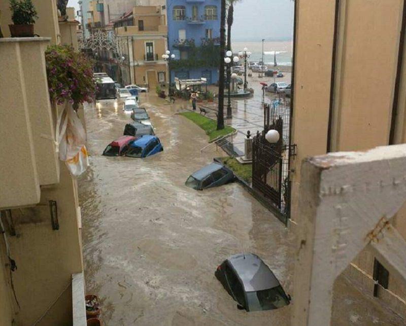 Proclamato stato di calamità naturale per Agrigento, Caltanissetta e Messina