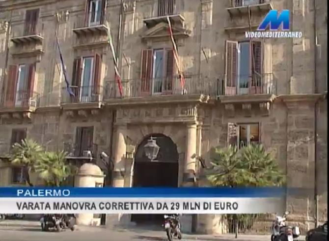 Varata da Crocetta la manovra correttiva da 29 mln di euro