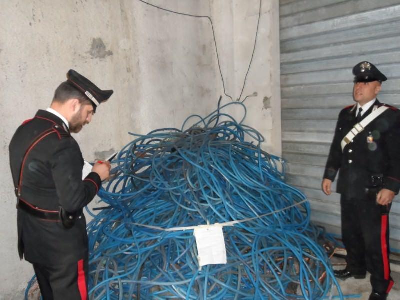Sorpresi a rubare nella centrale termoelettrica di Termini Imerese. Arrestati