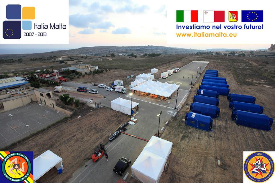 Protezione civile, al via esercitazione internazionale italo-maltese