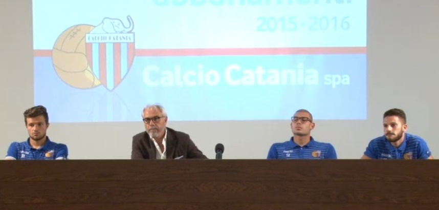 """Catania, presentati Agazzi, Liverani e Russotto. Il """"punto"""" di Pitino"""