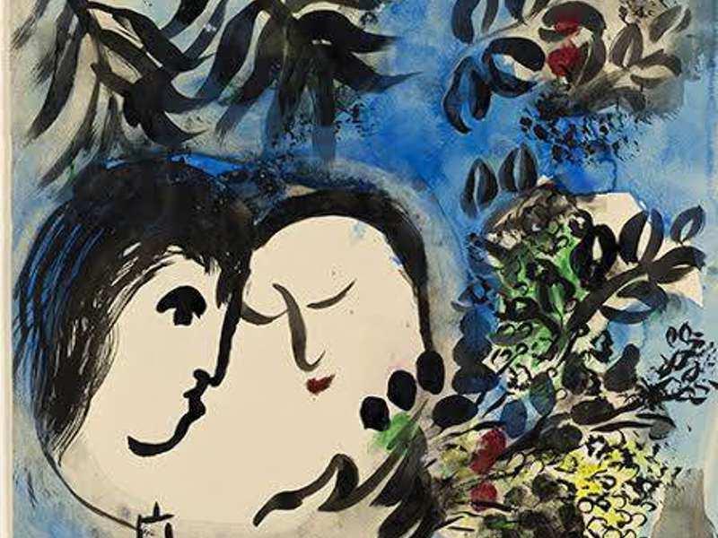 Castello Ursino: Chagall in mostra