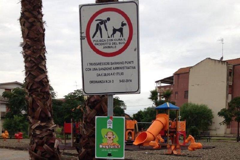 Belpasso, in corso installazione di toilette per cani