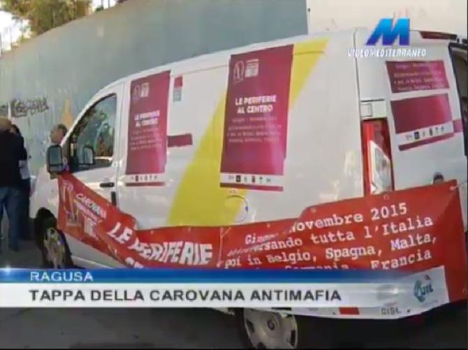A Ragusa la Carovana Internazionale Antimafia