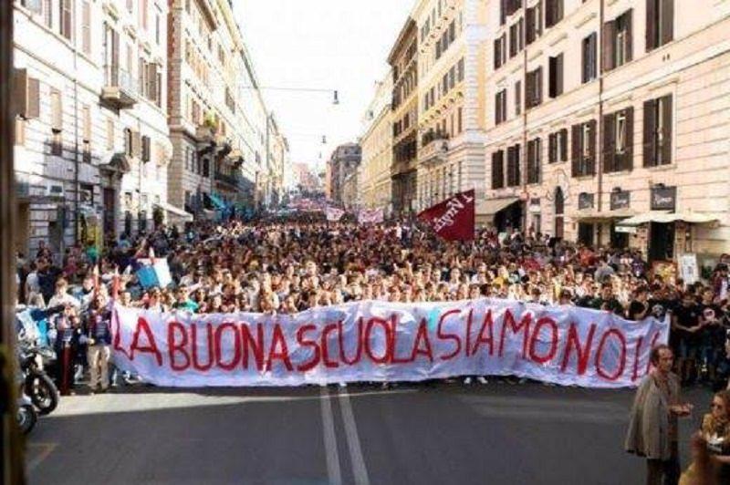 """""""Buona Scuola"""", riprendono le proteste degli studenti"""