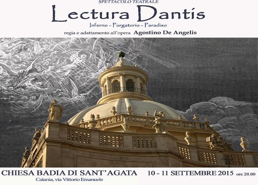 """Chiesa alla badia di Sant'Agata ospita """"Lectura Dantis"""" di De Angelis"""