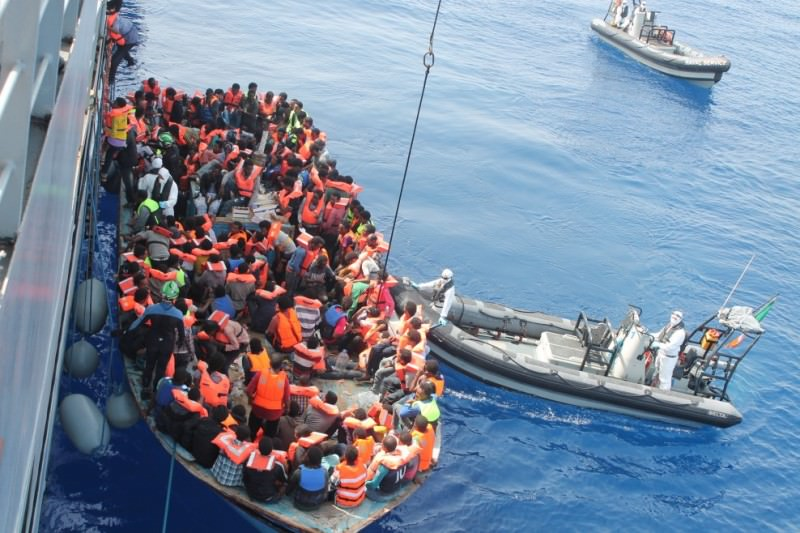 A Messina la nave Aquarius con quasi 400 migranti