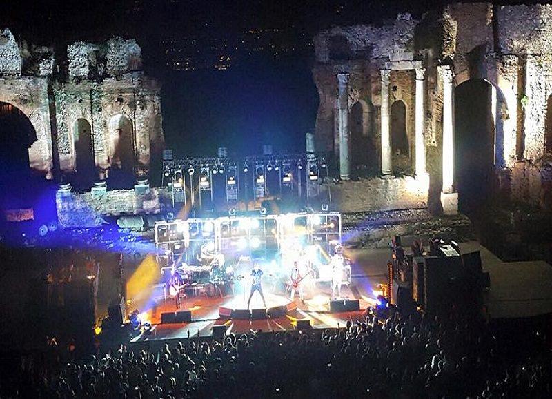 I Negrita conquistano il Teatro Antico di Taormina