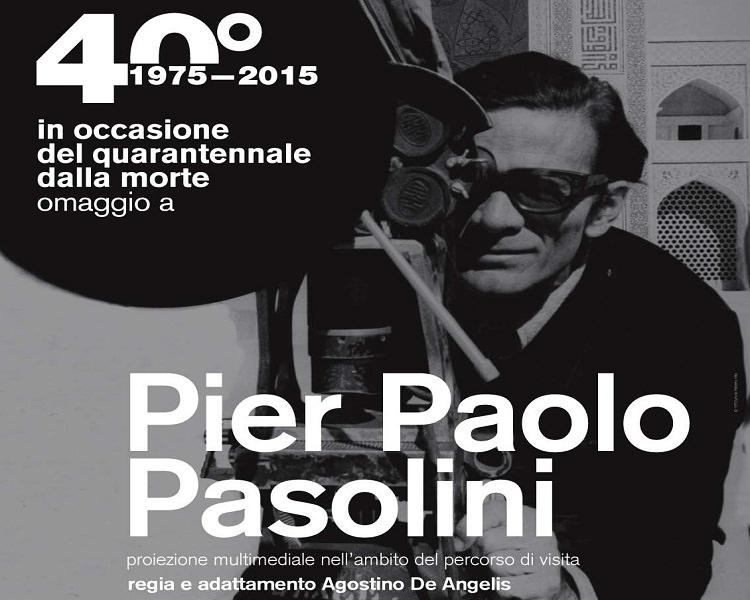 """Proiezion multimediale """"Omaggio a Pasolini"""": arte, musica, teatro e letteratura a Catania"""