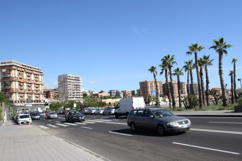 Catania, nuova illuminazione tra piazza Europa e il lungomare