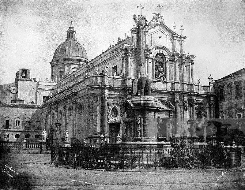 Catania, l'Etna e il nostro territorio com'erano 169 anni fa