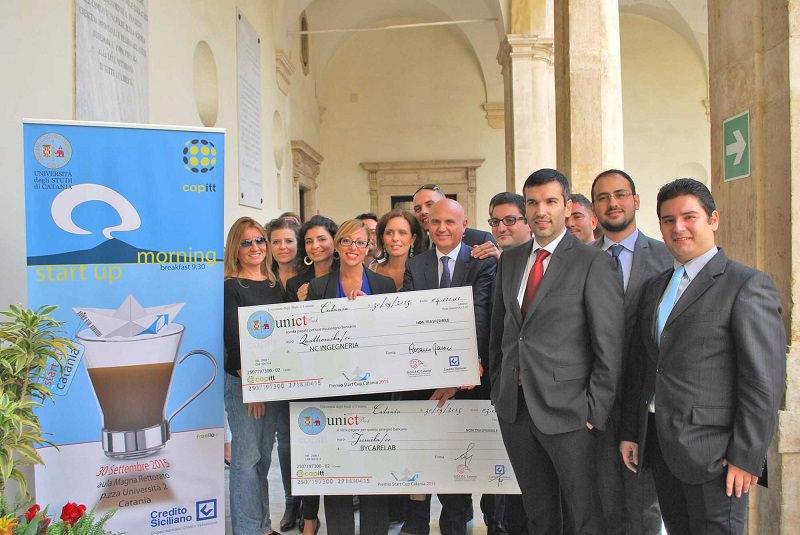 """""""Start Cup Catania 2015"""", vince """"NC Ingegneria"""": la plastica nelle costruzioni civili"""