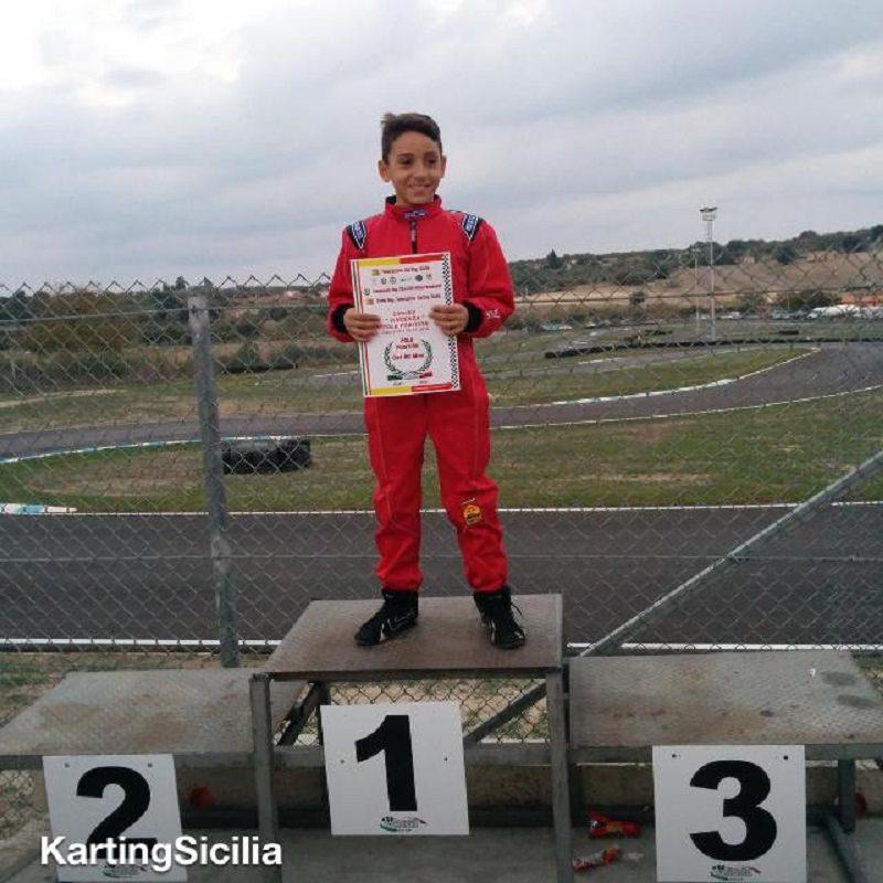 Campionato Italiano kart delle Regioni: un giovanissimo in gara per vincere