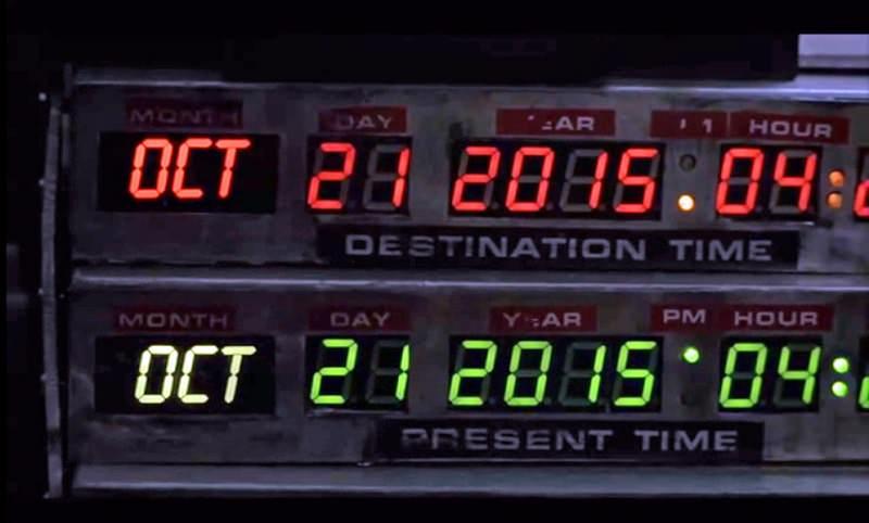 """21 ottobre 2015: il mondo festeggia il """"Ritorno al Futuro Day"""""""