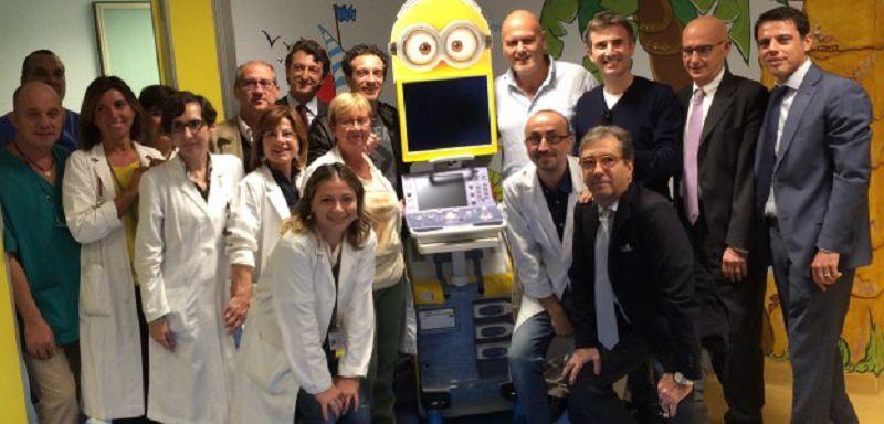 Onlus di Ficarra e Picone consegna ecografo all'ospedale