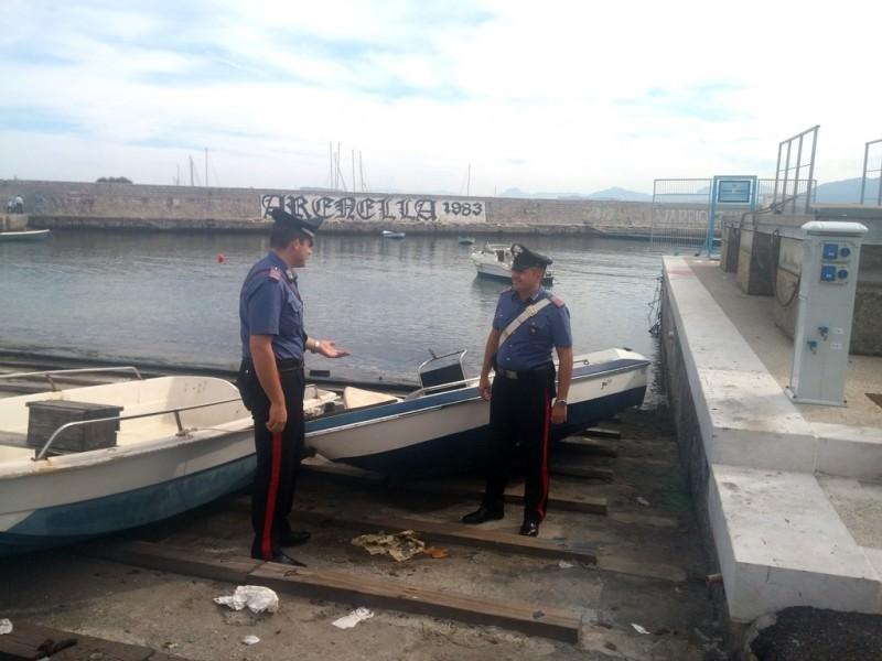 Rocambolesco inseguimento a Palermo dopo furto del sedile di una barca