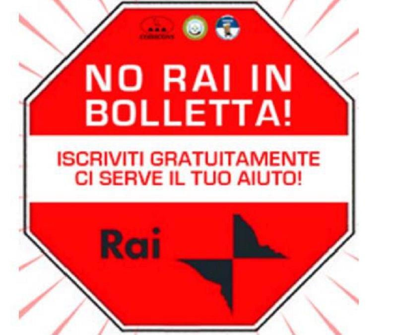 """""""No Rai in bolletta"""", Codacons e Comitati Cittadini protestano"""