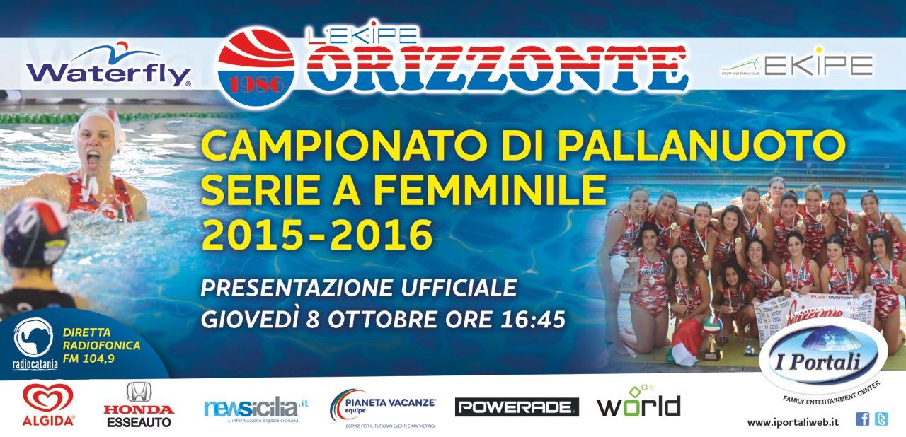 Giovedì 8 ai Portali l'Orizzonte Catania si presenterà ai suoi tifosi